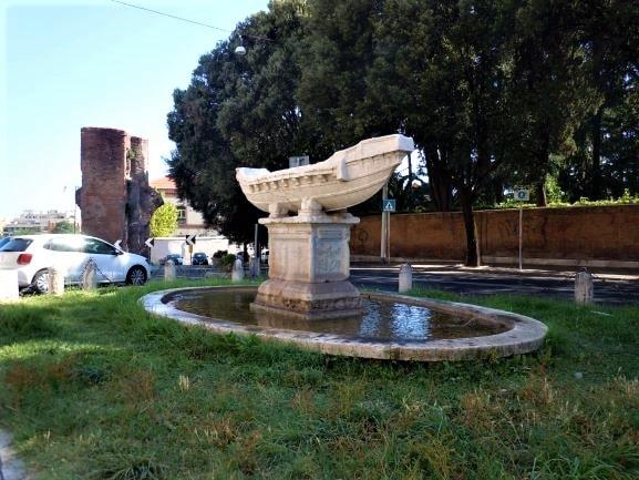Celio Fontana della Navicella