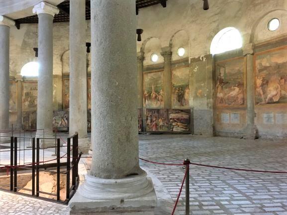 Celio ciclo del Martirologio nella Basilica di Santo Stefano Rotondo