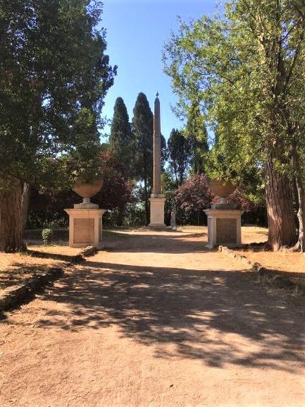 Celio villa Celimontana l'Obelisco Matteiano