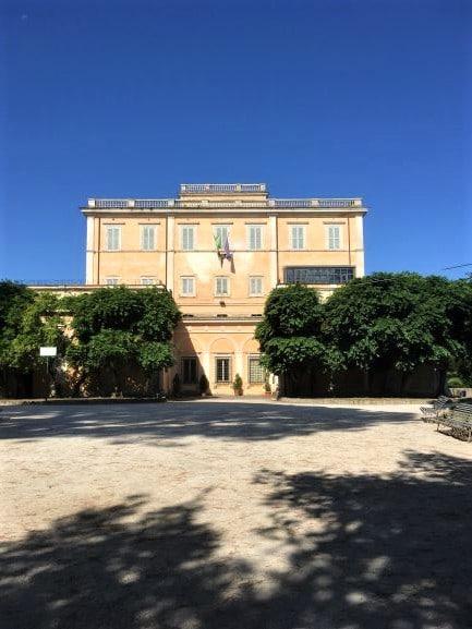 Celio il villino Mattei a villa Celimontana
