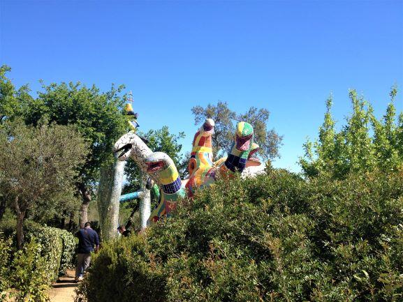 Giardino dei Tarocchi impiccato
