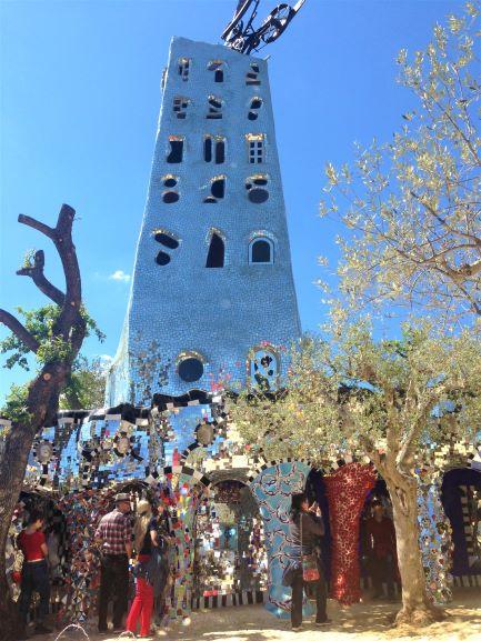 Giardino dei Tarocchi torre di babele