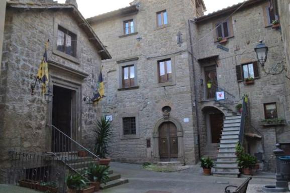 Bomarzo la chiesetta di Sant'Anselmo