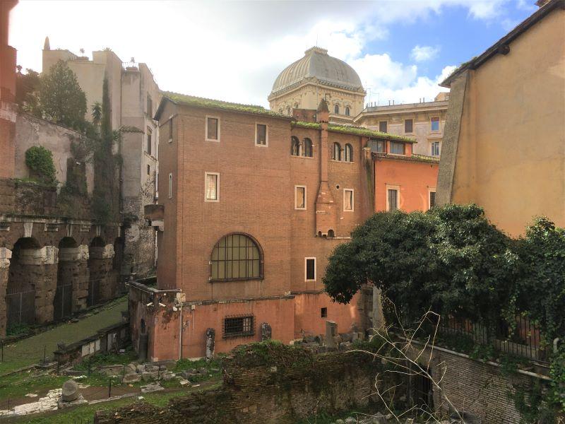 Ghetto di Roma, la Casina dei Vallati e Sinagoga
