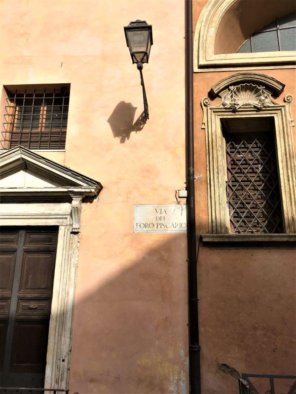 Ghetto di Roma, foro piscatorio