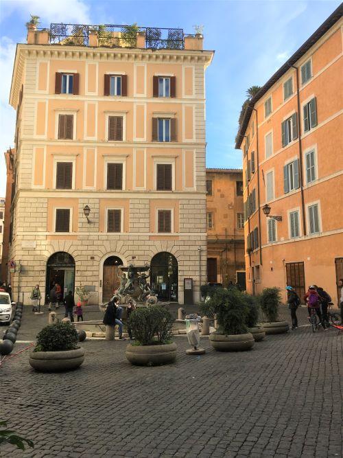Il ghetto di Roma piazza Mattei