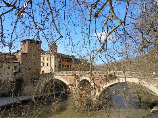 Ghetto di Roma, ponte Fabricio