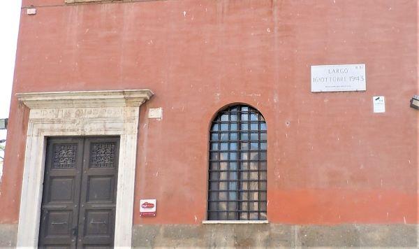 Ghetto di Roma, largo 16 Ottobre 1943