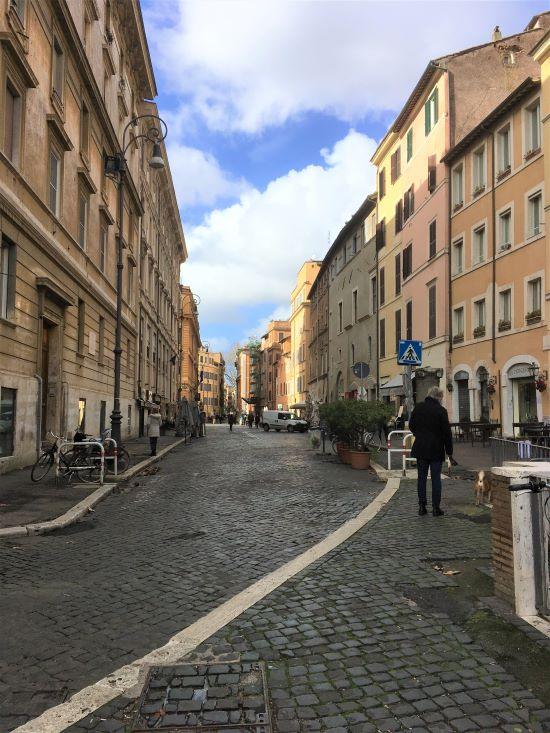 Ghetto di Roma, via del Portico d'Ottavia