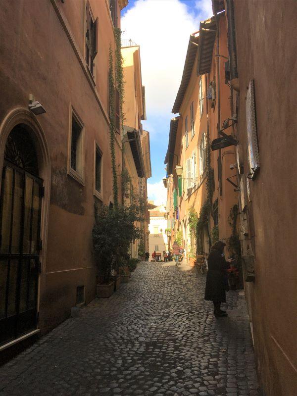 Il ghetto di Roma via della Reginella
