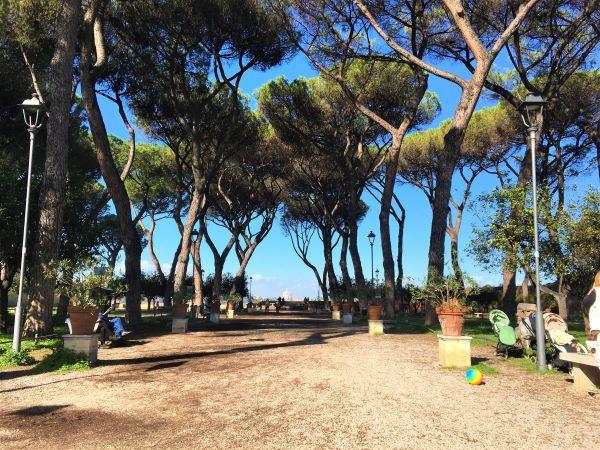 5 luoghi romantici a Roma, giardino degli Aranci