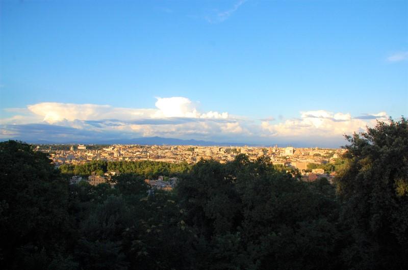 5 luoghi romantici a Roma, panorama dal Gianicolo
