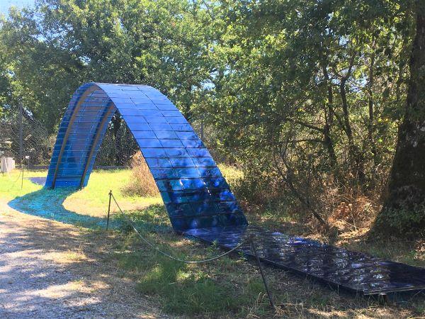 Parco Sculture del Chianti The Blue Bridge