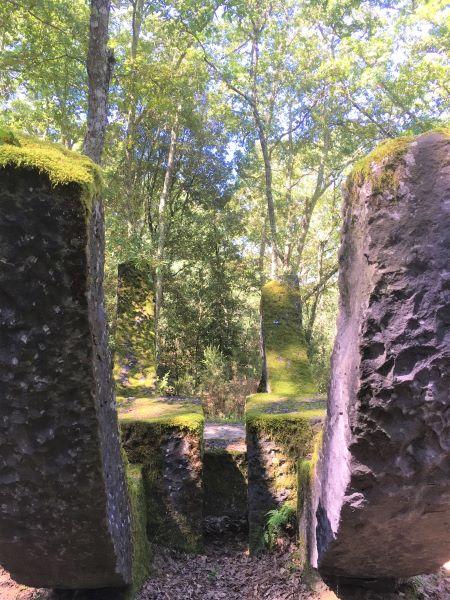 Parco Sculture del Chianti Particolare The Keel