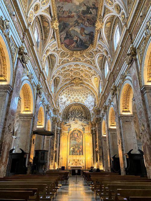 Caravaggio a Roma, interno San Luigi dei Francesi