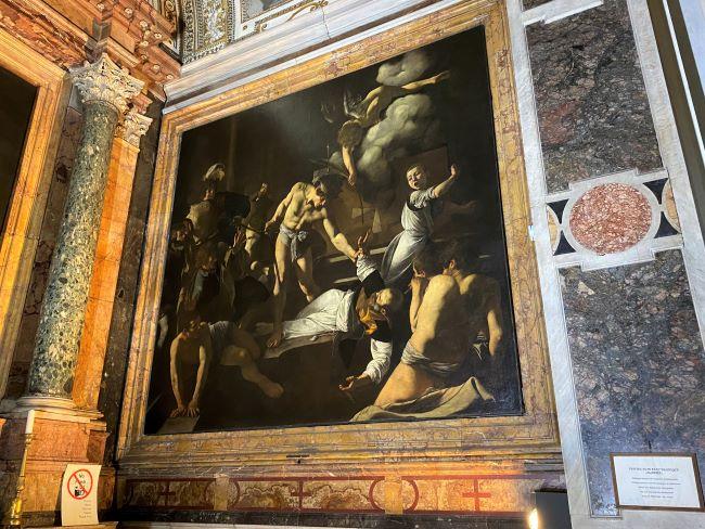 Caravaggio a Roma, Martirio di San Matteo