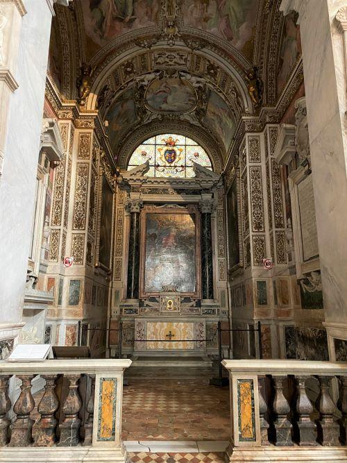 Caravaggio a Roma, cappella Cerasi