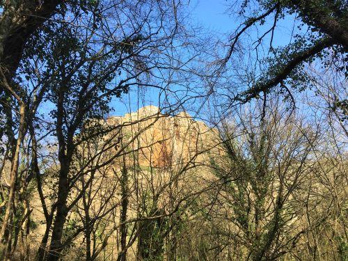 Valle del Treja, Calcata dal sentiero 009