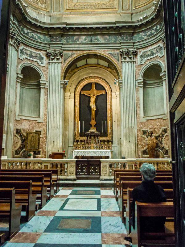 Quartiere Ostiense, San Paolo fuori le mura. Cappella Santissimo Sacramento.