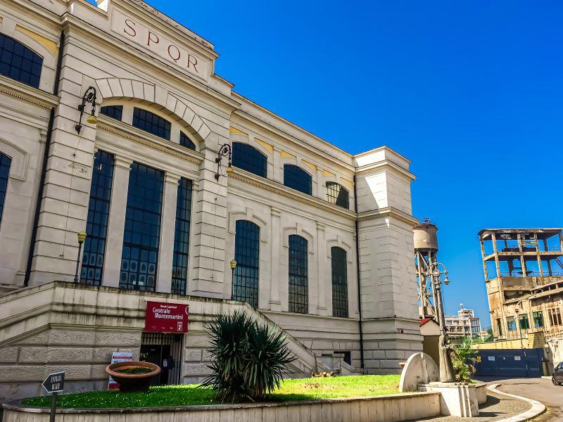 Quartiere Ostiense, Museo Centrale Montemartini.