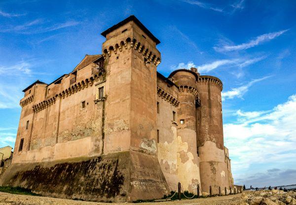 Surf a Roma, Castello di Santa Severa.