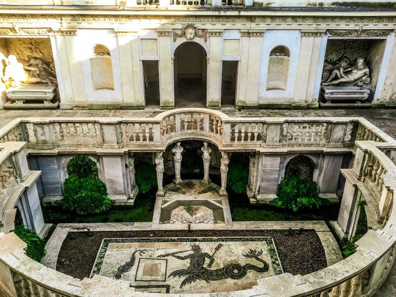5 musei di Roma il Ninfeo nel Museo Etrusco di Villa Giulia