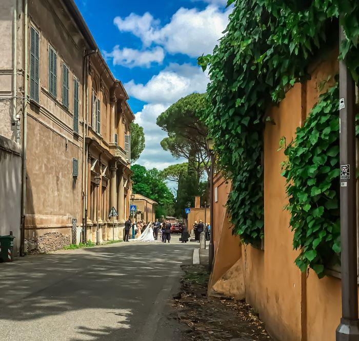 Esplorare l'Aventino matrimonio alla Basilica dei Santi Bonifacio e Alessio