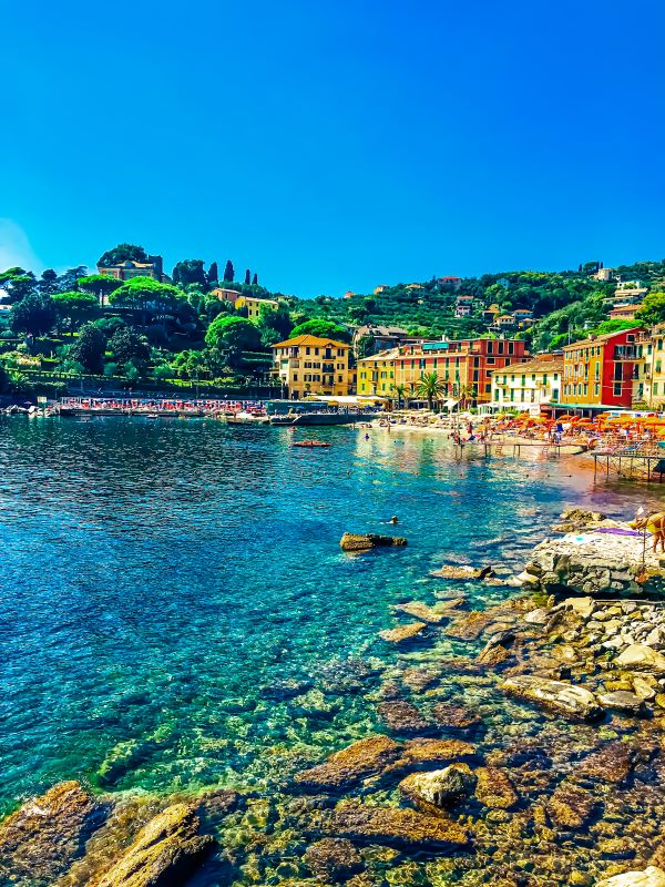 5 spiagge libere a Rapallo San Michele di Pagana