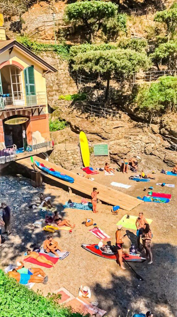 5 spiagge libere a Rapallo la spiaggia di Niasca