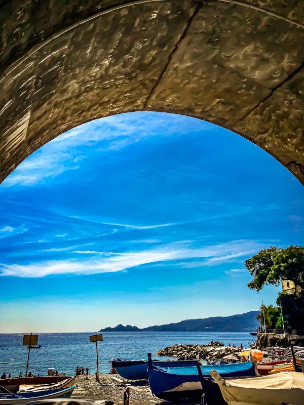 5 spiagge libere a Rapallo spiaggia di Zoagli