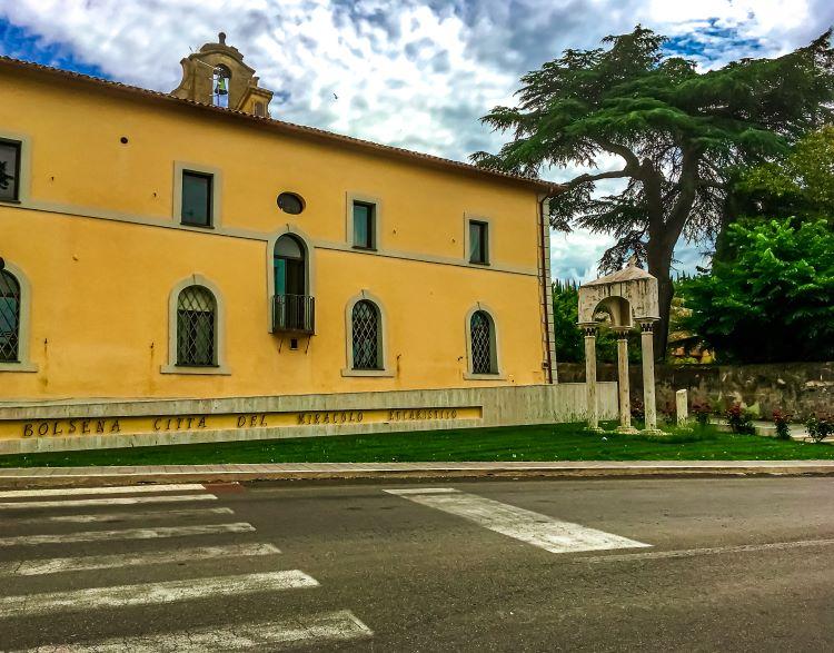 Bolsena città del Miracolo Eucaristico