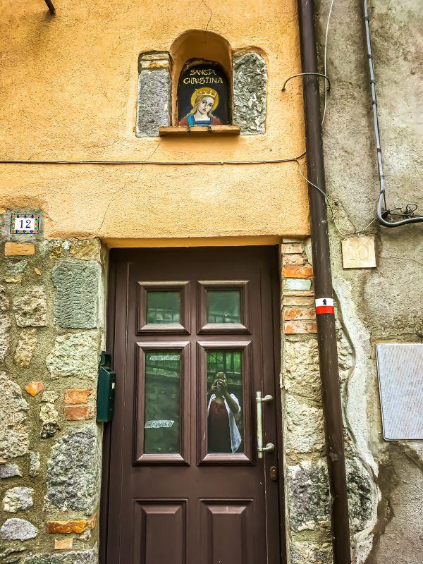 Bolsena icona votiva di Santa Cristina