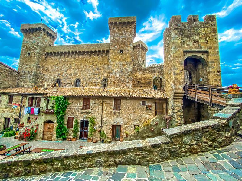 Bolsena Rocca Monaldeschi della Cervara