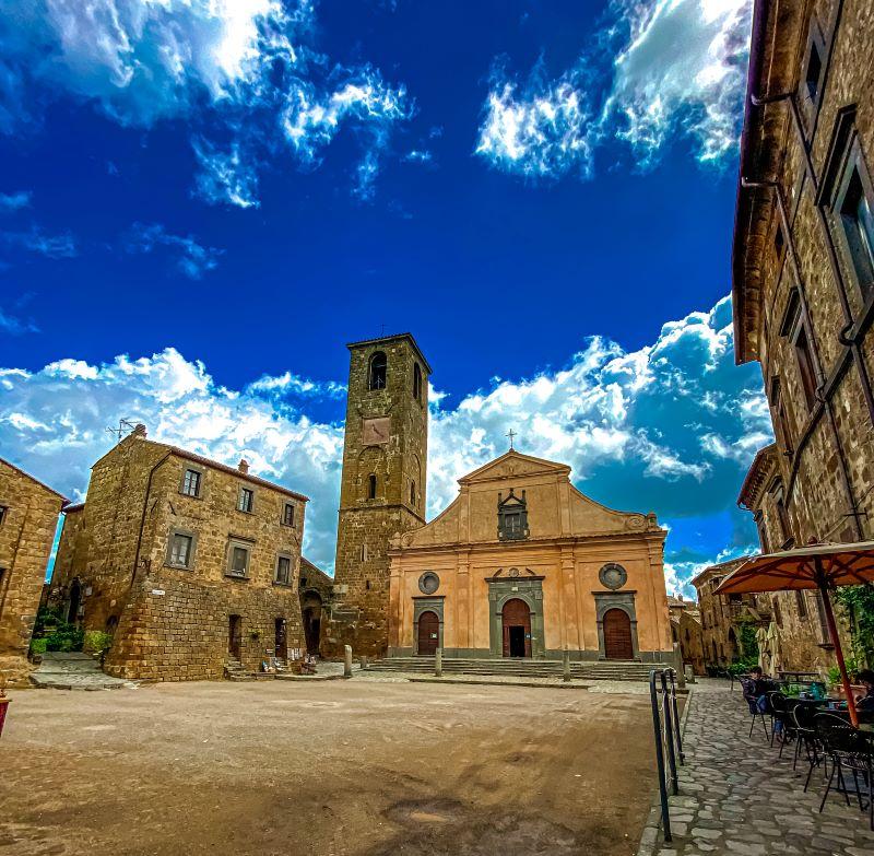 Civita di Bagnoregio chiesa di San Donato nel borgo