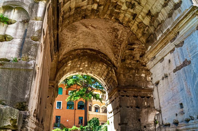 Velabro volta a crociera nell'Arco di Giano