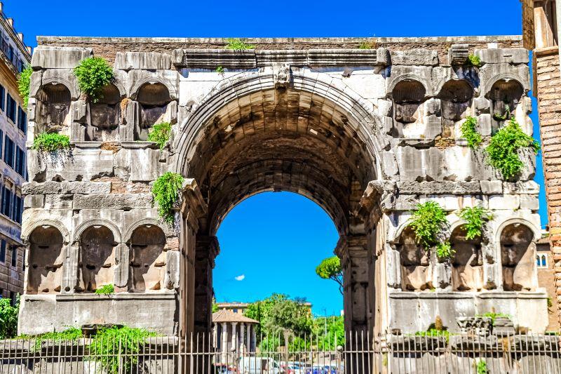 Velabro l'Arco di Giano