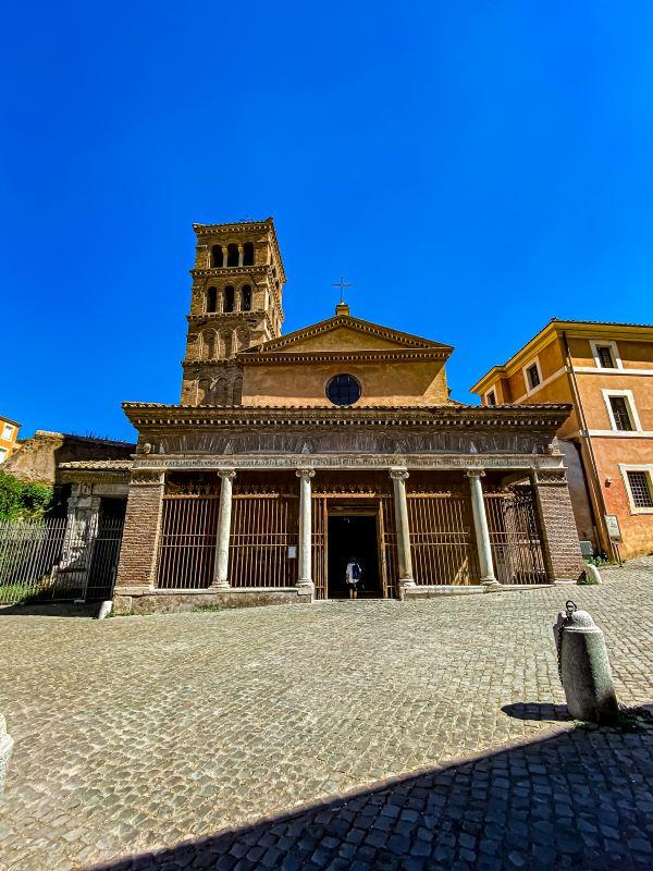 Velabro chiesa di San Giorgio al Velabro