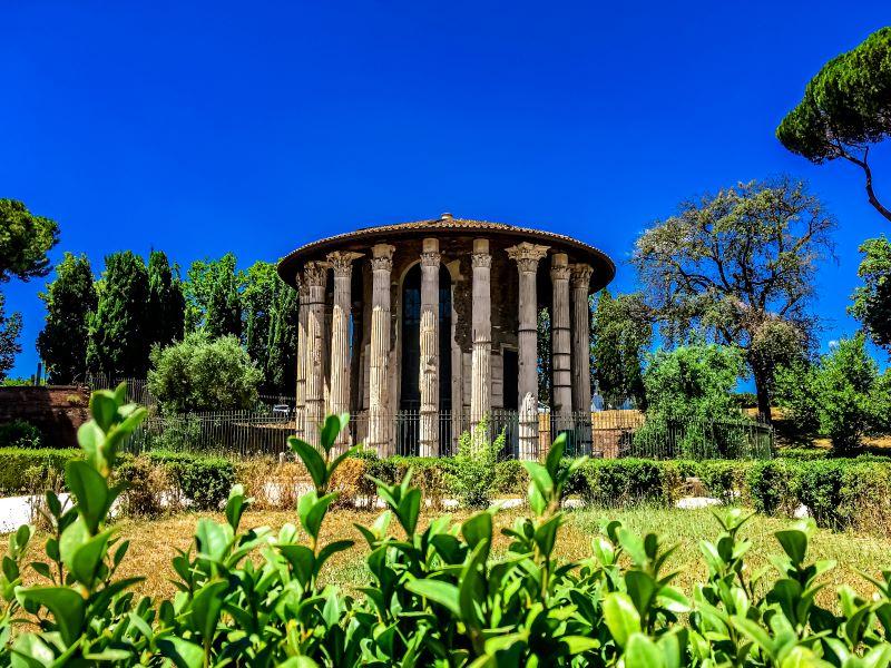 Velabro Tempio di Ercole Vincitore nel Foro Boario
