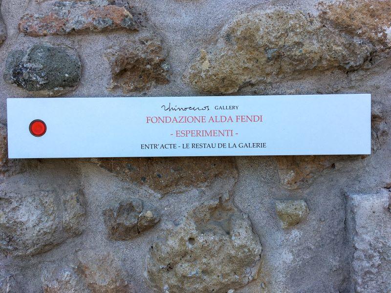 Velabro la Galleria Rhinoceros e la Fondazione Alda Fendi