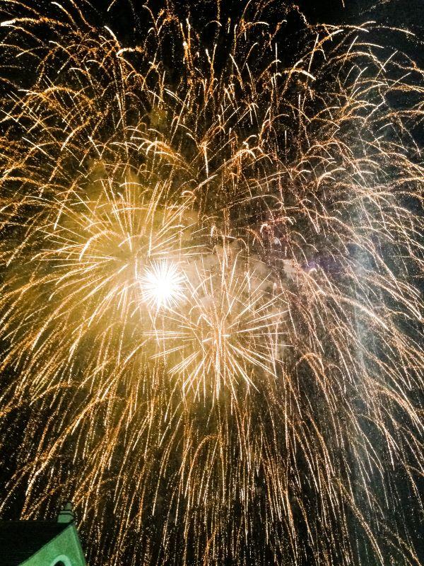 Agosto a Roma Campionato Italiano di Fuochi d'Artificio