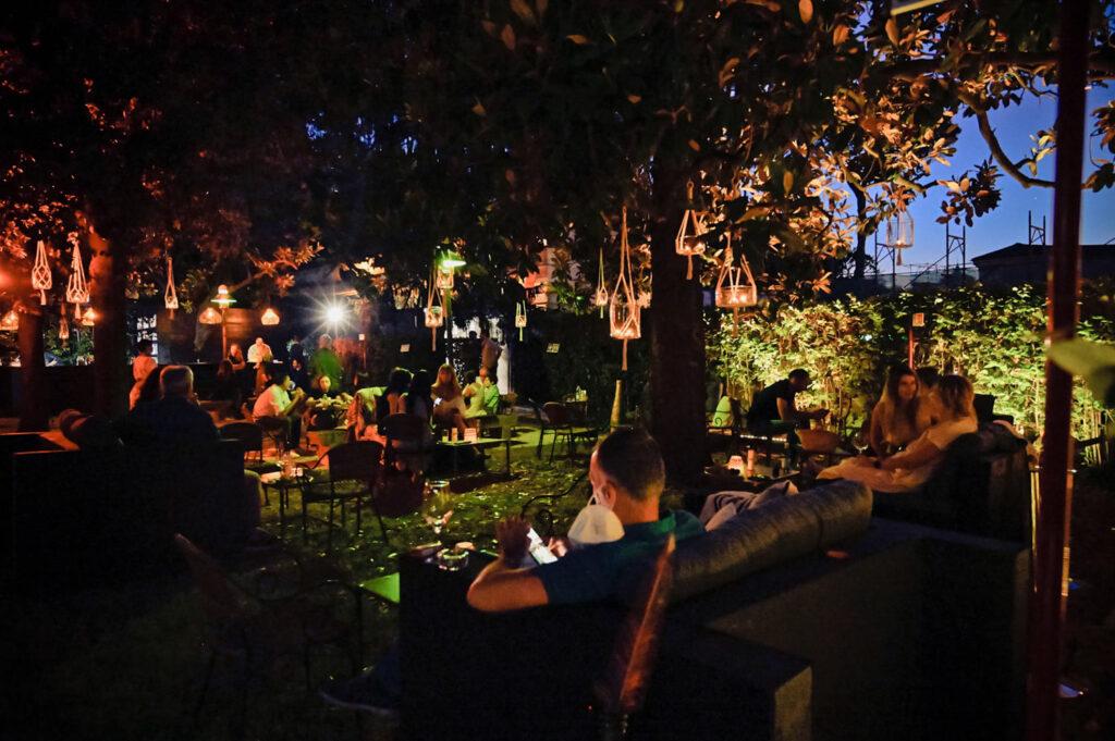 Agosto a Roma Villa Giulia Temporary Garden